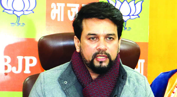 Vote share of BJP, Independents shows people  rejected Gupkar: Anurag Thakur
