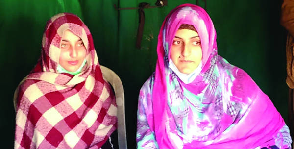 Two sisters from PoK cross into Poonch