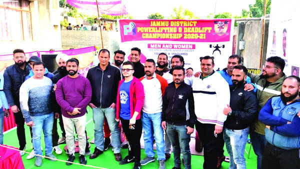 Jammu District Powerlifting & Deadlift Championship concludes