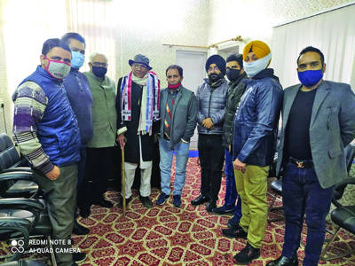 Prominent social activist from Nagrota joins Apni Party