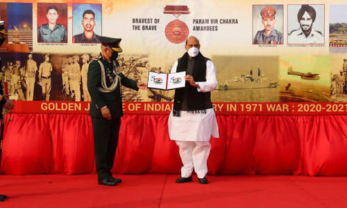 Nation will always remember sacrifice made by Indian soldiers in 1971 war: Rajnath