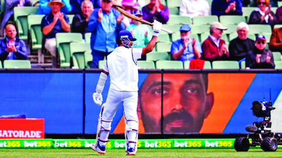 New India Assurance' Leader Rahane trumps Australia to series-levelling victory
