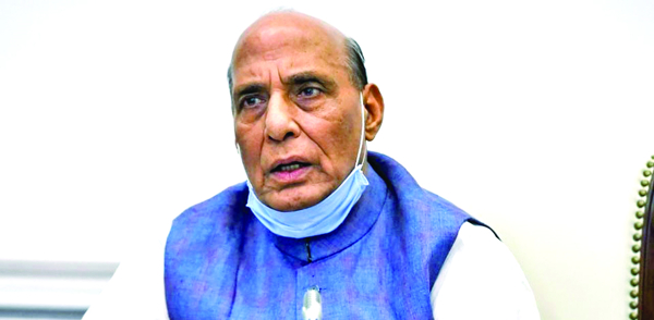 India can't accept any unilateral change of LAC: Rajnath