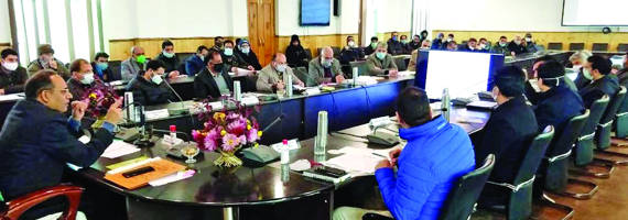 Kansal reviews functioning of  power sector in Ganderbal, Bandipora districts
