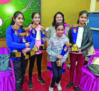 Students of DPS excel in Table Tennis C'ship