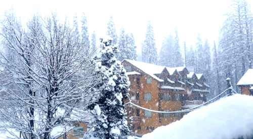 Intense cold conditions in Kashmir Valley