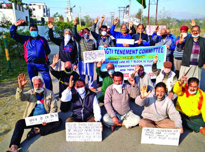Jagti residents protest enters 80th day
