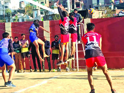Haricans Club Bagnoti wins opening volleyball tie