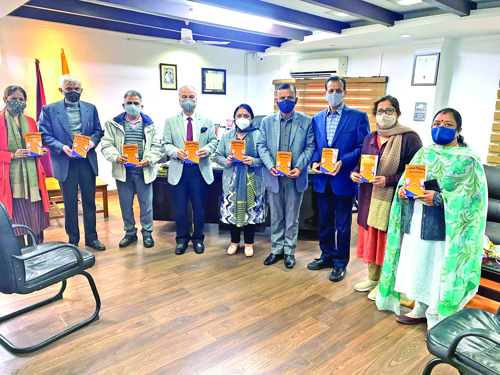 Prof Dhar releases book on 'Human Rights in 21st century'
