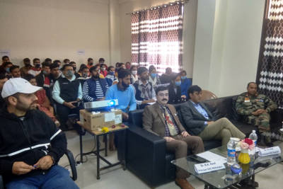 Workshop on stress management organised at GDC Mahanpur