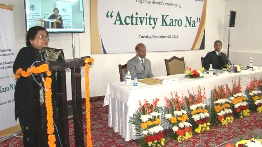 """Chief Justice felicitates winners of """"ACTIVITY KARO NA"""""""