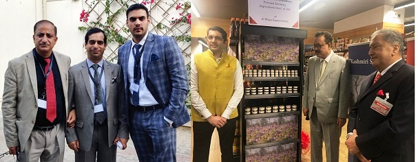 UAE-India Food Security Summit, 2020: Navin Choudhary launches GI tagged Saffron from Kashmir in UAE