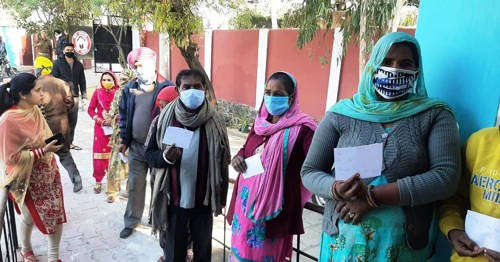 DDC Elections- 5th Phase: 43.27% votes polled till 1PM across J&K