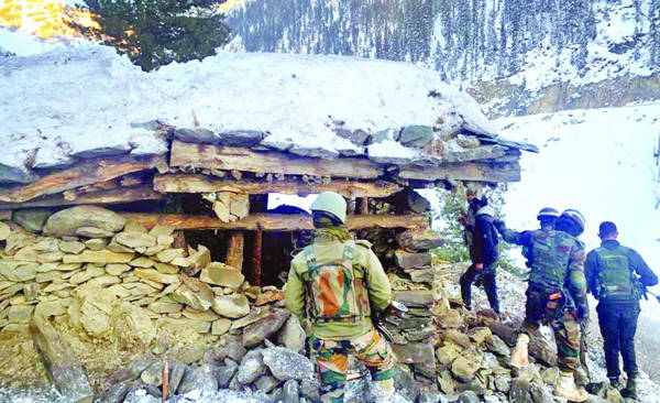 Two terrorists killed, another held in Poonch encounter