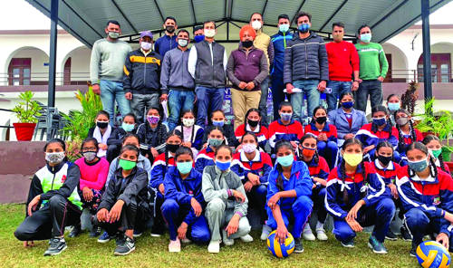 Zonal trials of volleyball, kho-kho held at 'The Pathseekers'
