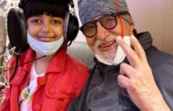 Amitabh Bachchan records song with granddaughter Aaradhya