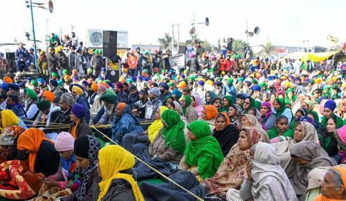 Over 2,000 women likely to join ongoing protest at Singhu border in coming days