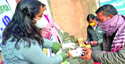 GGF organises three medical-cum-awareness camps