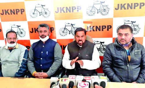 BJP goons granted immunity from legal action in District Udhampur: Harsh