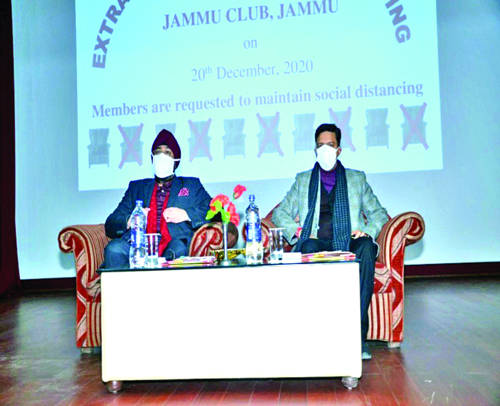 Jammu Club extends term of previous Managing Committee till April 2021