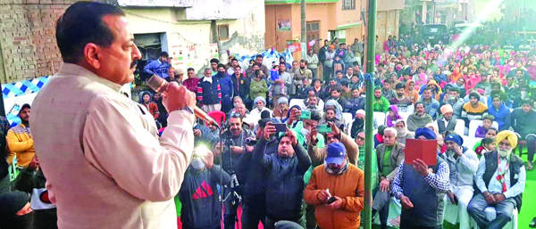 Dogra interest sabotaged by self-styled Dogra leaders: Dr Jitendra