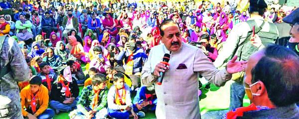 Opposition candidates also seeking votes in Modi's name: Dr Jitendra
