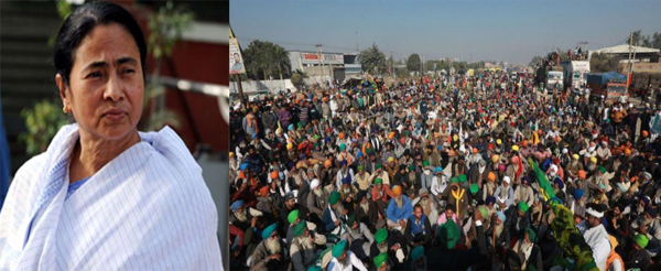 Mamata Banerjee speaks to farmers protesting at Singhu border, assures them of her support