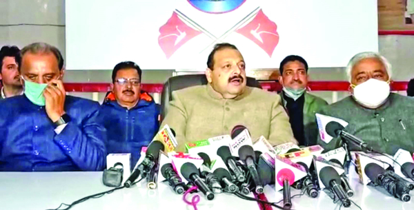 Rana lauds peoples' mandate to NC in DDC elections, hopes verdict is respected