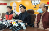 'Gupkar Gang' trying to divert attention of voters from main agenda of development: BJP National Spokesperson Shahnawaz Hussain