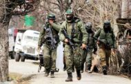 Terrorist killed in encounter with security forces in Baramulla
