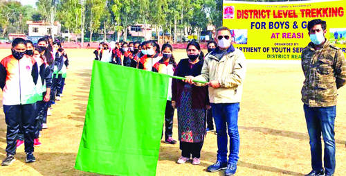 ADC Reasi flags off DYSS trekking